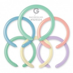 080 Assorted 2 inch -100 Solid Color