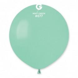 077 Mint Green  19in
