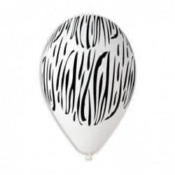 418 Zebra Animal Stripes White 12 – 50
