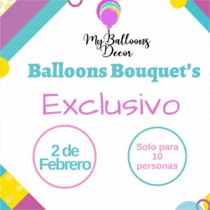 Balloons Bouquets – Exclusivo